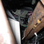 He ate the main dash wiring harness-